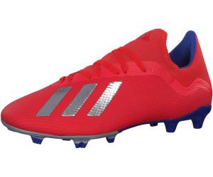 Adidas X 18.3 FG - schwarz/rot, Gr. 46 EU