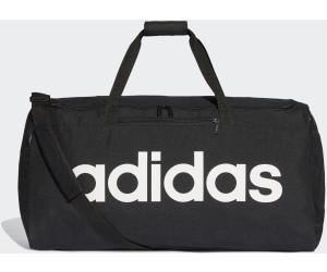 cf73bbe3bdba2 Adidas Linear Core Duffel Bag L black black white ab 22