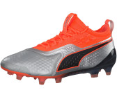 03df0fd03b0d8 Puma ONE 1 Leather FG AG Men (104735) Silver-Shocking Orange