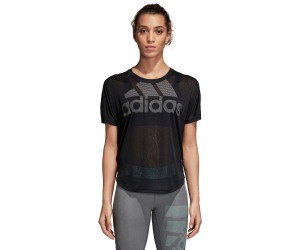 b03b497c Buy Adidas Magic Logo T-Shirt Women Black from £19.20 – Compare ...