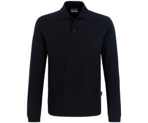 858f2d8252710a Hakro Longsleeve-Pocket-Poloshirt Top schwarz (809-05) ab 17,95 ...