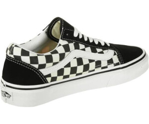 vans primary check old skool femme
