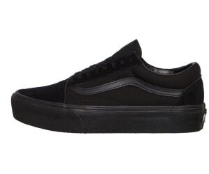 c40edd8fcb Vans Old Skool Platform Women Suede Black Black ab 76