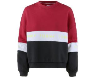 4ff1b29765eb76 Tommy Hilfiger Farbblock-Sweatshirt mit Logo-Tape (DW0DW06001) ab 47 ...