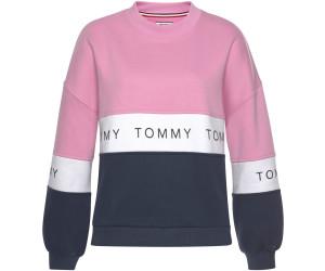 neue Version neue Sachen offizielle Seite Tommy Hilfiger Farbblock-Sweatshirt mit Logo-Tape ...