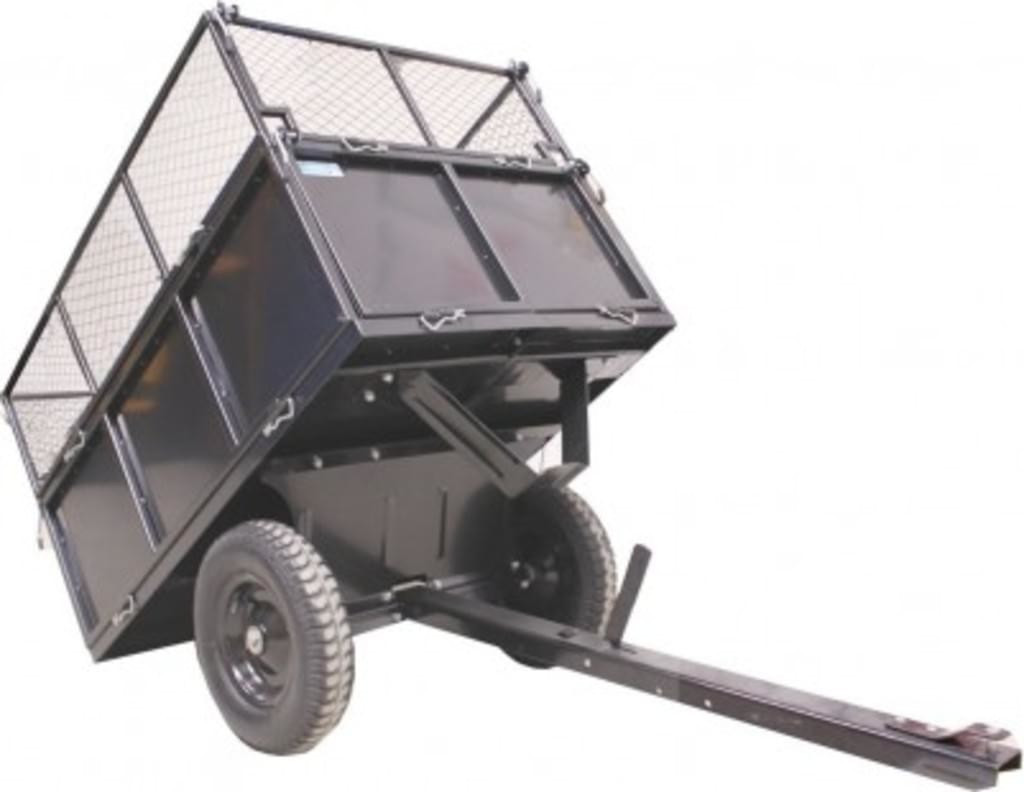 Baumarktplus Rasentraktor Anhänger 300 kg
