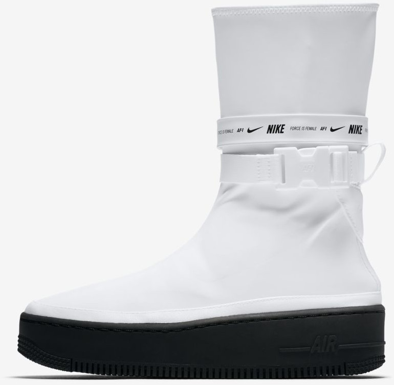 check out 6ff5e 17427 Nike Air Force 1 Sage High white black white