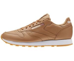 leyendo Inclinado graduado  Buy Reebok Classic Leather soft camel/white/gum from £79.40 (Today) – Best  Deals on idealo.co.uk