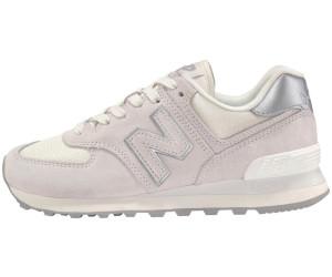 new balance 574 sneaker donna silver