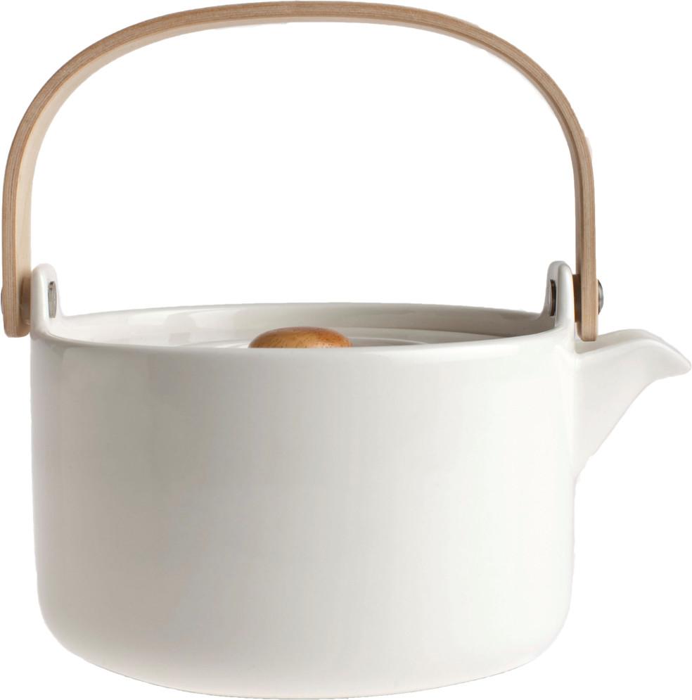 Marimekko Teekanne Oiva weiß (0,7 L)