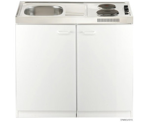 Extrem Respekta Miniküche 100 cm weiß ( Pantry OKS ) ab 187,77 GY05