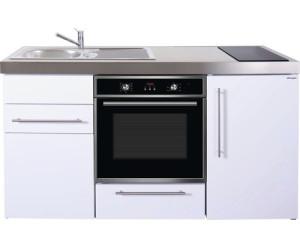 Miniküche 120 Cm Breit Mit Kühlschrank : Stengel miniküche 160 cm metall weiß glänzend mpb160 ab 1.675 00