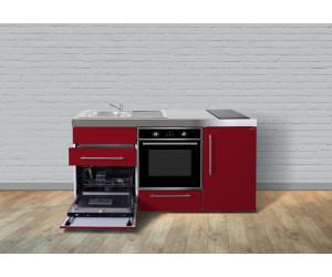 Miniküche Mit Kühlschrank Und Backofen : Stengel miniküche cm metall glanz ab