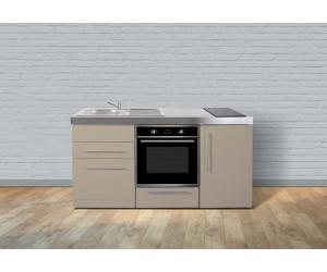 Miniküche Mit Kühlschrank Und Herd 120 Cm : Stengel miniküche 170 cm metall matt ab 2.264 69 u20ac preisvergleich