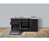 Miniküche Mit Ceranfeld Ohne Kühlschrank : Kompaktküche mit glaskeramik kochfeld preisvergleich günstig bei
