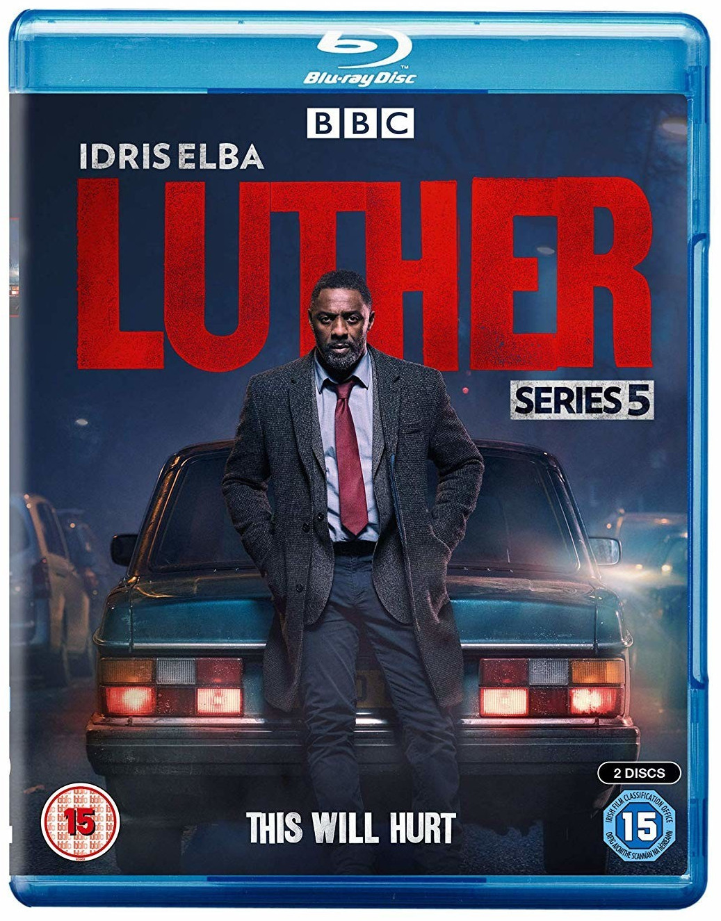 Image of Luther - Series 5 [Blu-ray] [2019]