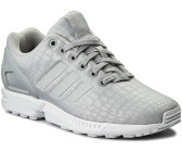 new concept 8c225 fe1f5 Adidas ZX Flux W grey twogrey twoftw white