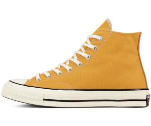 converse noir et jaune