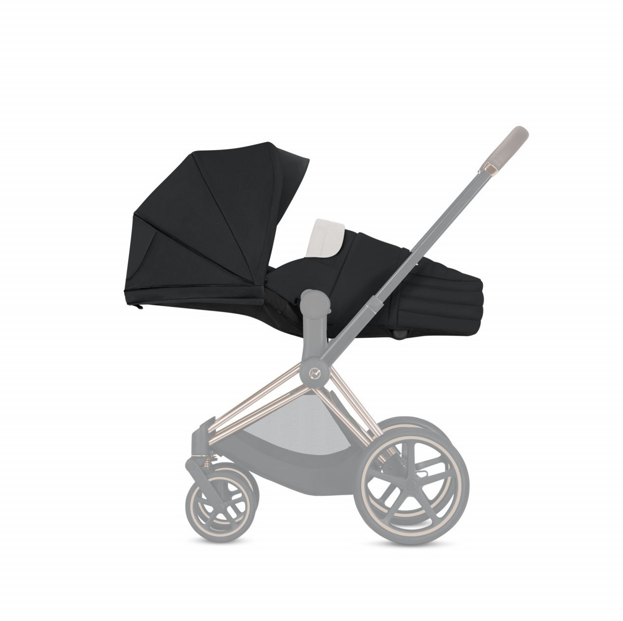 Cybex Lite Cot Manhattan Grey