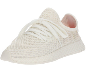 db72347538f78 Buy Adidas Deerupt Runner off white ftwr white shock red from £46.25 ...