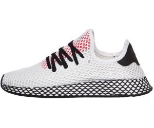 finest selection b1bfe 4608f Adidas Deerupt Runner ftwr white core black shock red