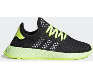 Adidas Deerupt Runner J core blackhi res yellowftwr white