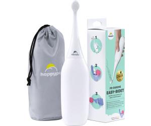 HappyPo Po-Dusche 2.0 Easy-Bidet weiß + Reisetasche