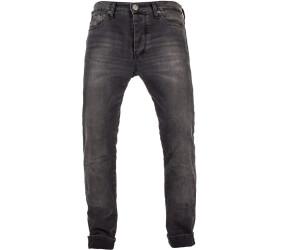 John Doe Ironehead Motorrad Jeans Motorradhose mit Kevlar Atmungsaktiv XTM Denim Jeans mit Stretch Einsetzbare Protektoren