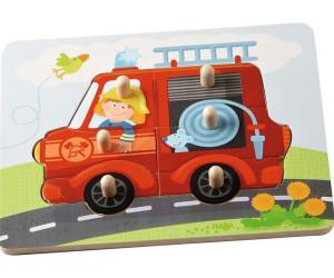 Holz-Puzzle 4 Teile Lokomotive ab 12 Monate Babypuzzle