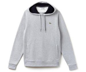 new concept 3f01e 8e650 Lacoste Sweatshirt aus Fleece mit Kapuze heidekraut grau ...