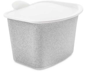 Koziol Bibo Bioabfallbehälter Bioabfallbox Abfall Behälter Cotton White 22.5 cm