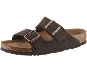 Birkenstock Pantolette Arizona Leder Mocca Gr. 35 43 951311, Größe + Weite:42 normal