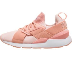 PUMA Schuhe glänzende Damen Sneaker Muse Satin En Pointe