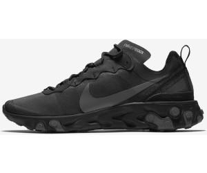 Nike React Element 55 blackdark grey au meilleur prix sur