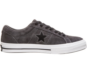 d882a62cea4e Converse One Star Dark Star Vintage Suede. almost black black white. Lowest  price