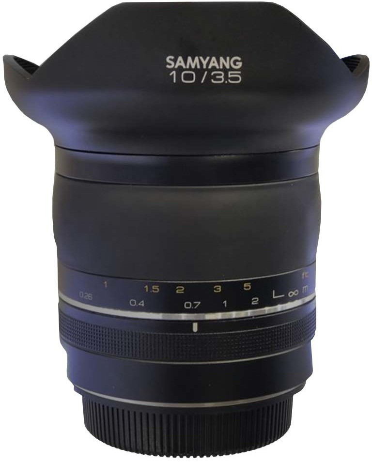 Samyang XP 10mm f3.5 Canon EF