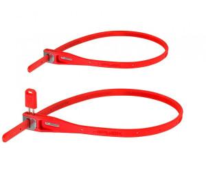 Hiplok Kabelschloss Z-Lok 1 Paar lime 40 cm