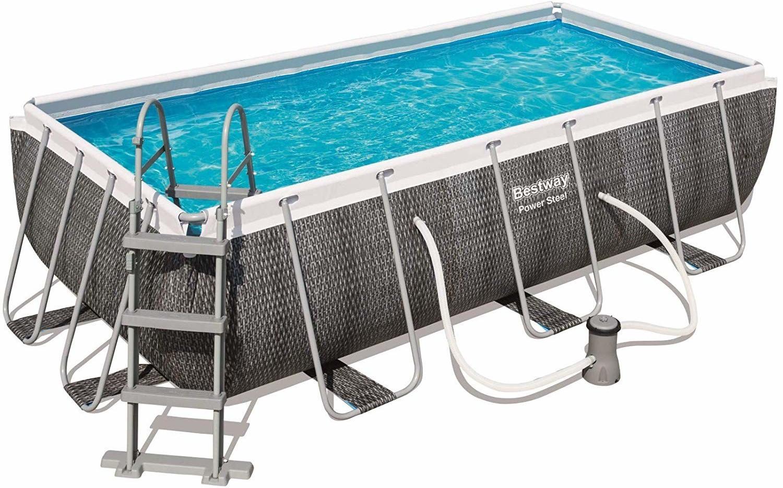 Bestway Power Steel Deluxe Pool-Set 412 x 201 x 122 cm (56722)