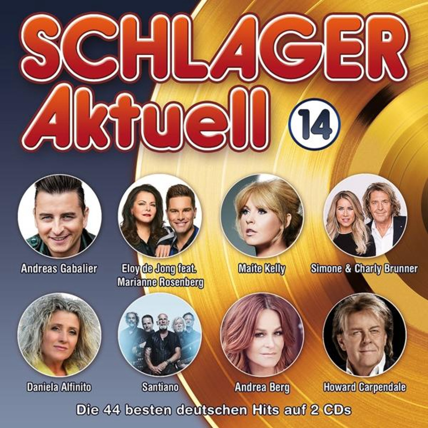 Schlager Aktuell 14 (CD)