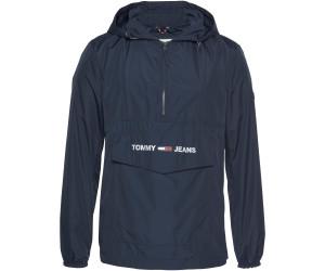 Tommy Hilfiger Black Tommy Jeans Popover Anorak Jacket for men