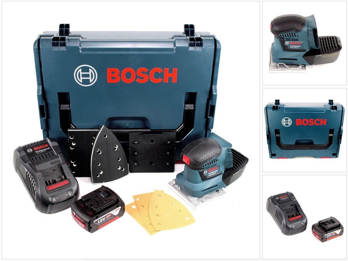 Bosch GSS 18 V-10 Professional (1 x 4,0 Ah + GAL 1880 L-Boxx)