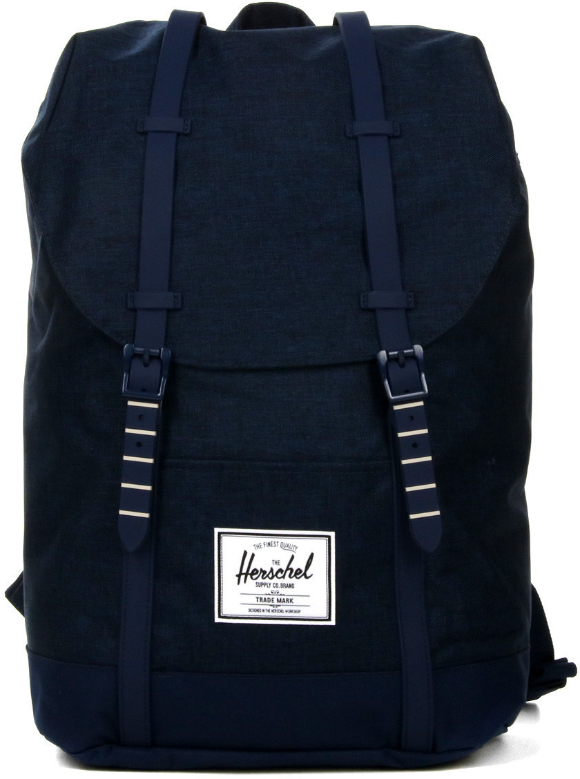 Herschel Retreat Backpack medieval blue crosshatch/medieval blue