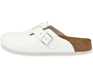 Birkenstock Boston Super Grip white ab </div>