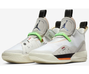 Nike Air Jordan XXXIII Basketball shoe vast greywhitesail