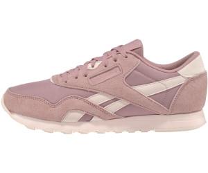 59ceb0ebab370 Buy Reebok Classic Nylon Women smoky rose pale pink from £50.01 ...