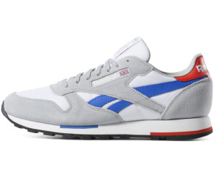 huge selection of cf87c 5c13a Reebok Classic Leather white/grey/cobalt/orange/black ab 60 ...