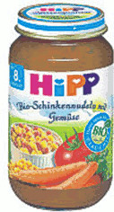 Hipp Bio-Schinkennudeln mit Gemüse (220 g)