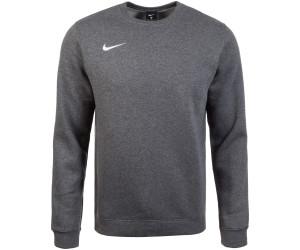 5c0ad63b110 Nike Club 19 Fleece Crew Top charcoal Heather/white (AJ1466-071) ab 24,99 €  | Preisvergleich bei idealo.de