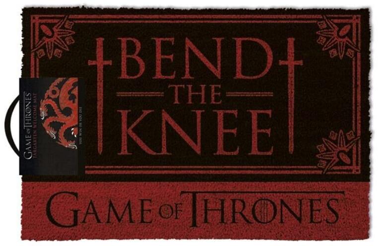 Pyramid international Fußabtreter Game Of Thrones (60 x 40 cm) Bend The Knee | Flur & Diele > Fußmatten