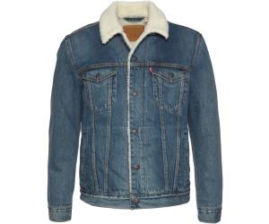 Levi's® TYPE 3 SHERPA TRUCKER Veste en jean mayze sherpa